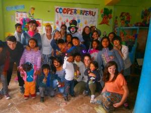 Trabajando por los niños peruanos!!!